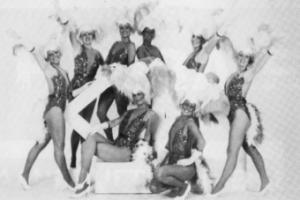 Dans en showgroep La cascade